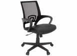 Curve Lether and Mesh Swivel Chair - ROF-2900BK