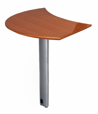 Curved Desk Left Extension in Golden Cherry - Mayline Office Furniture - NEXTLGCH