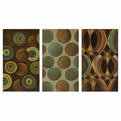 Cycles Wall Decor (Set of 3) - IMAX - 47230-3