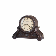 Cynthia Chiming Mantel Clock in Americana Cherry - Howard Miller