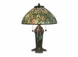 Daffodil Tiffany Replica Table Lamp - Dale Tiffany