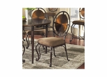 Dallas Weathered Copper Side Chair - Set of 2 - Largo - LARGO-ST-D138-41