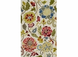 Dalyn Ambiance Flowers Area Rug in Beige - AB150