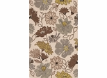 Dalyn Ambiance Flowers Area Rug in Ivory - AB110