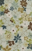 Dalyn Ambiance Flowers Area Rug in Spa - AB165