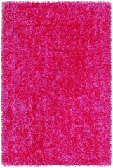 Dalyn Bright Lights Hot Pink Tufted Area Rug - BG69HP