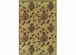 Dalyn Capri Rectangular Woven Rug in Ivory - CA8020