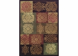 Dalyn Capri Sable Rectangular Area Rug - CA6