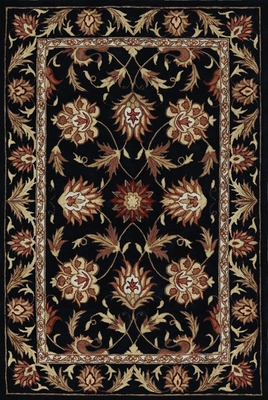 Dalyn Galleria Black Area Rug - GL4BK