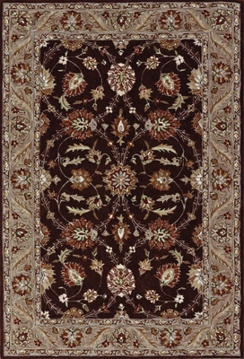 Dalyn Galleria Chocolate Tufted Area Rug - GL15CH