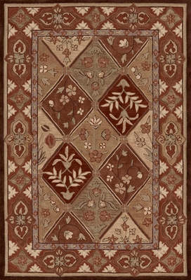 Dalyn Galleria Traditional Area Rug in Chocolate - GL7CH