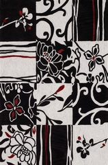 Dalyn Studio Black Area Rug - SD20BK