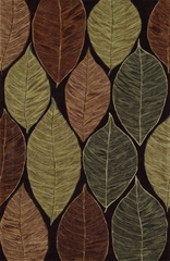 Dalyn Studio Chocolate Leaf Area Rug - SD9CH