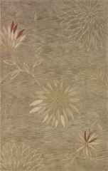 Dalyn Studio Rectangular Aloe Tufted Area Rug - SD301AL