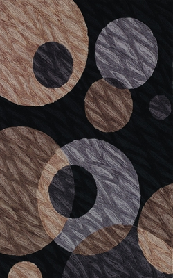 Dalyn Studio Tufted Area Rug in Black - SD24BK