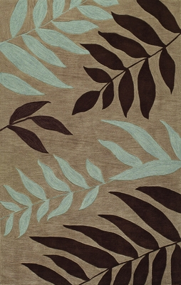 Dalyn Studio Tufted Area Rug in Taupe - SD41TA