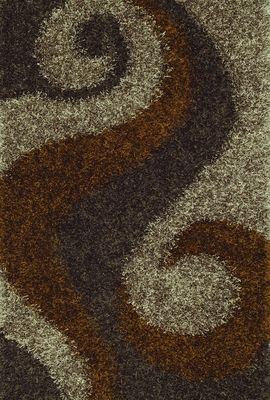 Dalyn Visions Coffee Rectangular Area Rug - VN5CO