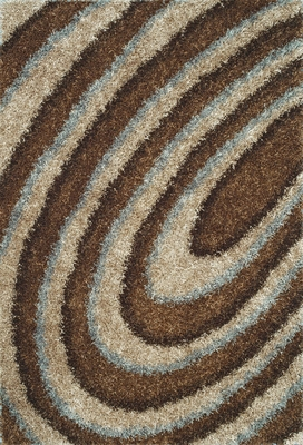 Dalyn Visions Mocha Rectangular Area Rug - VN7MO