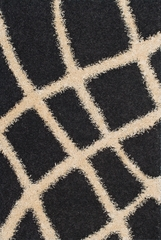 Dalyn Visions Tufted Rug in Black - VN14BK