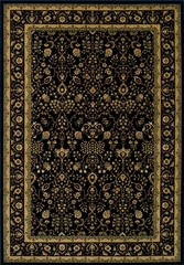 Dalyn Wembley Black Area Rug - WB1BK