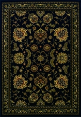 Dalyn Wembley Black Area Rug - WB787BK