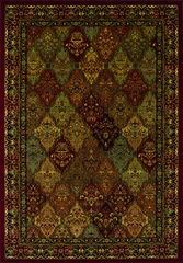 Dalyn Wembley Woven Area Rug - Red - WB38RD