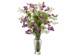 Dancing Daisy Silk Flower Arrangement - Nearly Natural - 1253