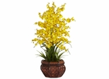 Dancing Lady Silk Flower Arrangement - Nearly Natural - 1207-YL