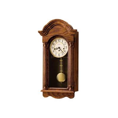 Daniel Key Wound Wall Clock - Howard Miller