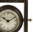 Danna Gray Wash Finish Wood Desk Clock - IMAX - 5560