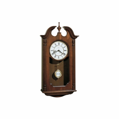 Danwood Wall Clock in Windsor Cherry - Howard Miller