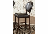 Daphne Dark Brown Counter Height Chair - Set of 2 - 104169