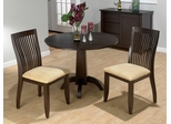 Dark Chianti Round 3 Piece Dining Set - 845-40