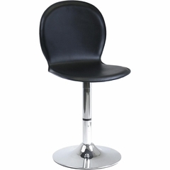 Darrel Swivel Chair with Faux Leather Seat - Winsome Trading - 93120
