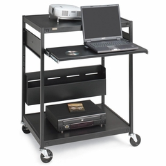 Data Projector Cart - Black - BREECILS1FFBK