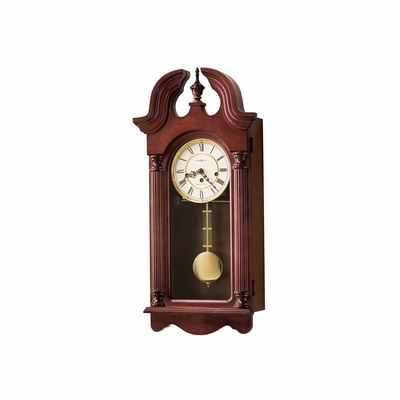 David Key Wound Wall Clock - Howard Miller