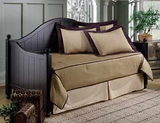 Day Bed - Augusta Daybed in Rubbed Black - Hillsdale Furniture