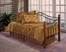 Day Bed - Madison Daybed in Black / Cherry - Hillsdale Furniture
