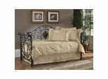 Day Bed - Mercer Daybed in Antique Brown - Hillsdale