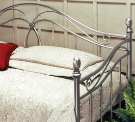 Day Bed - Milano Daybed in Antique Pewter