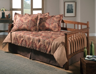 Day Bed - Mission Daybed in Dark Oak - Hillsdale Furniture