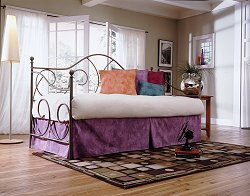 Daybed - Caroline Twin Size Daybed in Flint - Fashion Bed Group - CAR-DBED-1