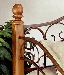 Daybed - San Marco Daybed in Brown Copper