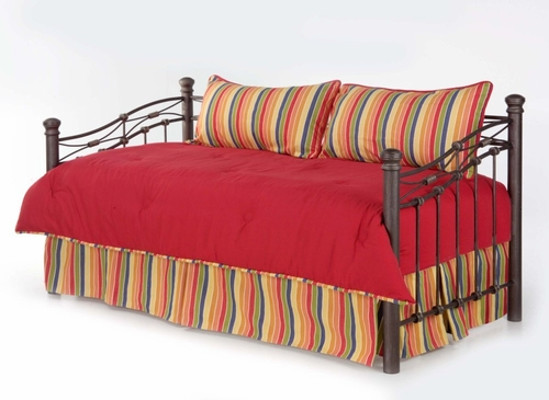 Daybed Size Bedding - 4-Piece Twin Size Daybed Emsemble in Camp 1830 Pattern - 80JQ400CAM