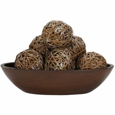 Decorative Balls (Set of 6) - Nearly Natural - 3023