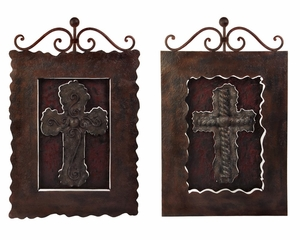 Decorative Crosses (Set of 2) - IMAX - 12253-2