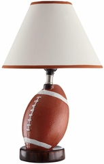 Decorative Football Table Lamp - Set of 2 - 901463