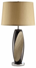 Decorative Table Lamp with Linen Shade - Set of 2 - 901266