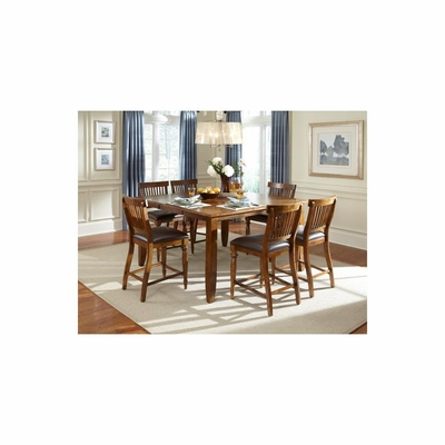 Delphina 7 Piece Dining Room Set - American Hertiage - AH-713654