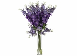 Delphinium Silk Flower Arrangement - Nearly Natural - 1224-PP